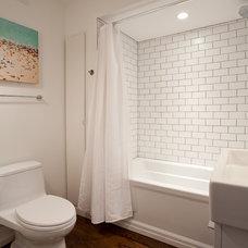 Modern Bathroom by Bunker Workshop