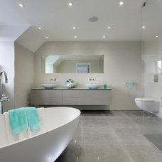 Contemporary Bathroom by Bibliotheque Ltd