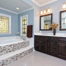 Traditional Bathroom by Robin Gatti Photography