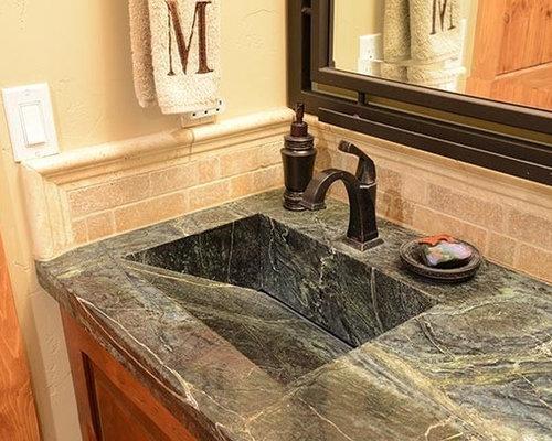 Badezimmer mit eckbadewanne und duschnische design ideen - Eckbadewanne fliesen bilder ...