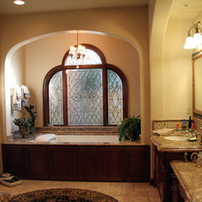 Mediterranean Bathroom by Toblesky-Green Architects