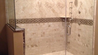 big custom shower bath