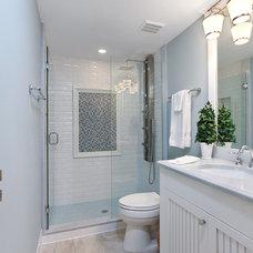 Traditional Bathroom by Big Renovations & Design Inc.