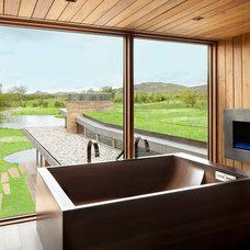 Contemporary Bathroom by hughesumbanhowar architects
