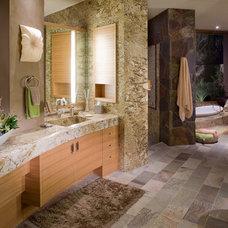Contemporary Bathroom by Jeffrey Jurasky & Associates, Inc.