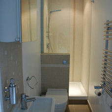 Contemporary Bathroom Bijou and Compact Ensuite
