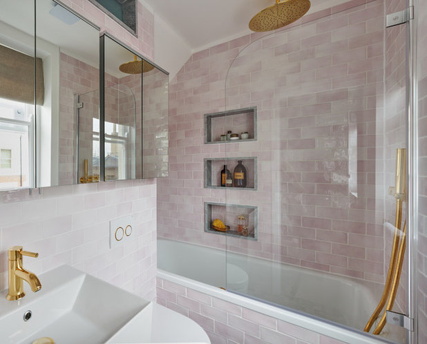 Eclectic Bathroom by Maurizio Pellizzoni Ltd