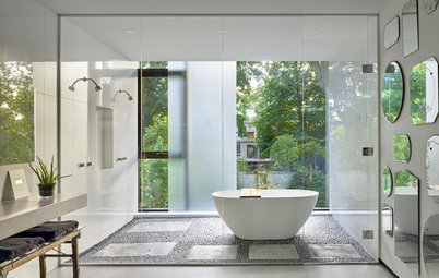 See What Gives These 10 Bathrooms Their Spa-Like Feel