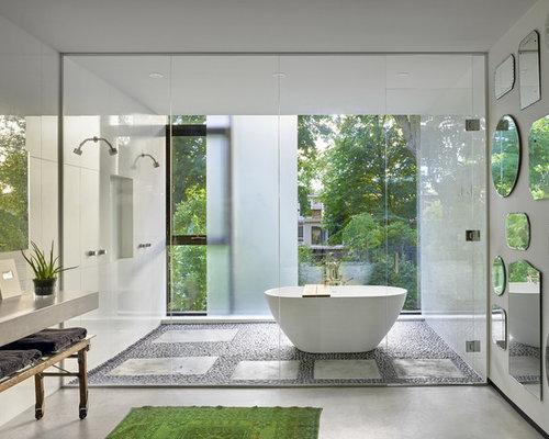 Best Modern Bathroom Ideas Designs Houzz - Modern bathroom images
