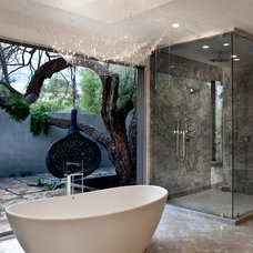 Contemporary Bathroom by Marsha Cain Designs