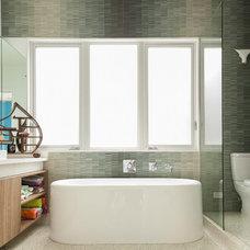 Modern Bathroom by Collaborative Designworks