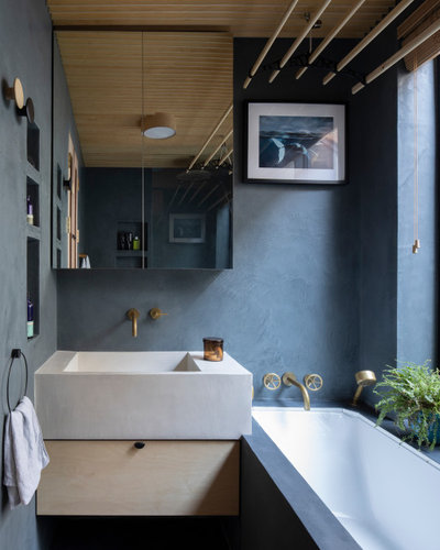 Contemporary Bathroom by RISE Design Studio