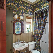 Bird-Themed Bathroom to Cover