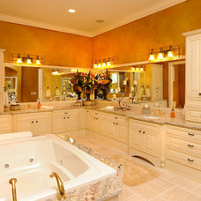 Traditional Bathroom by Linda Spry Interior Design
