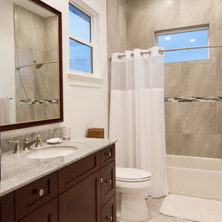 Bathroom - tropical bathroom idea in Tampa