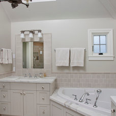 Traditional Bathroom by Doug Simon ARCHITECTURE