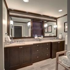 Contemporary Bathroom by Meg Corley Premier Interiors