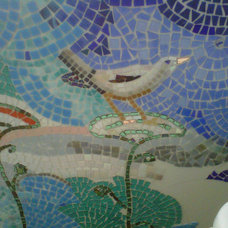 Eclectic Bathroom by Mid Century Mosaics
