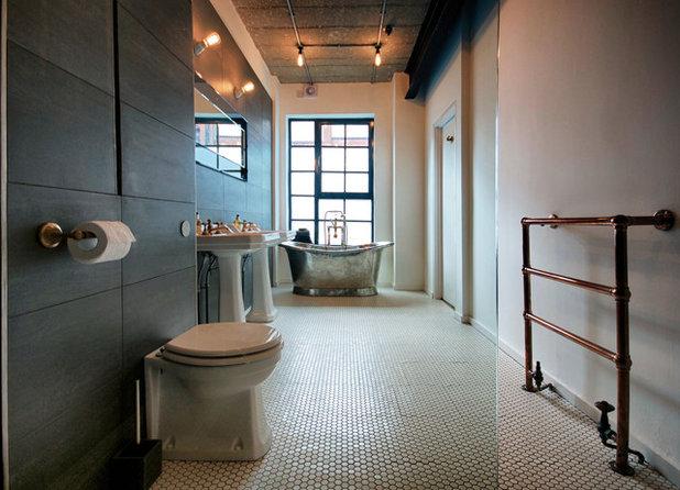 Modern Badezimmer by Malersykes