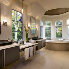 Contemporary Bathroom by Dominick Tringali Architects