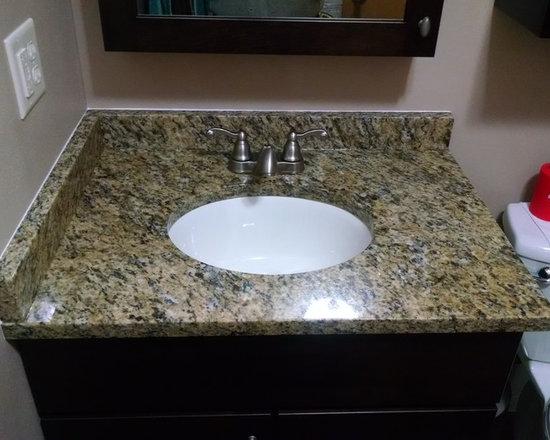 Bathroom Remodeling Wausau Wi birnamwood, wi mater bath remodel - santa cecilia granite vanity top