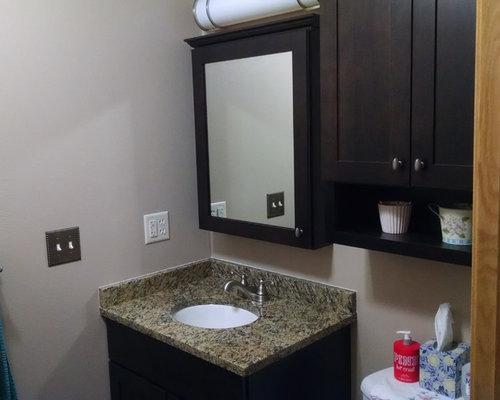 birnamwood wi mater bath remodel santa cecilia granite vanity top - Bathroom Remodel Eau Claire Wi