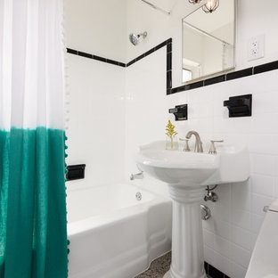 Inspiration for a 1960s bathroom remodel