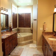 Traditional Bathroom by Steven Dailey Construction