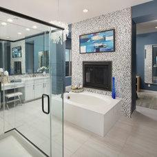 Contemporary Bathroom by Meritage Homes