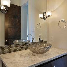 Transitional Bathroom by Legend Lighting