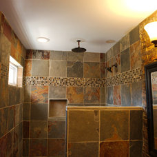 Traditional Bathroom by Construction Services & Management, Inc.