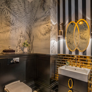 Black & Gold Bathroom