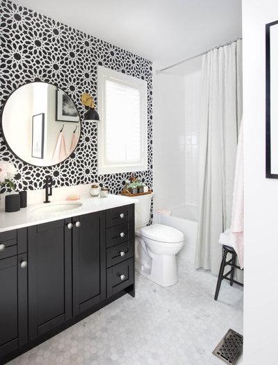 American Traditional Bathroom by Loom Decor
