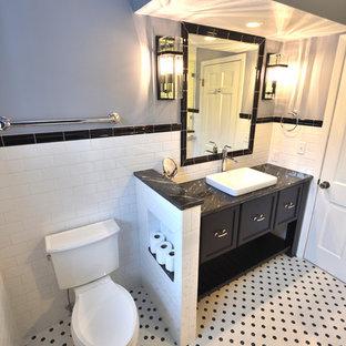 Black & White Bathroom Remodel