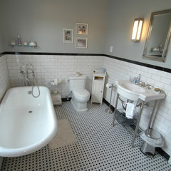 traditional bathroom by Wyanoke Builders