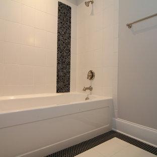 Black and White Kids Bathroom Ideas