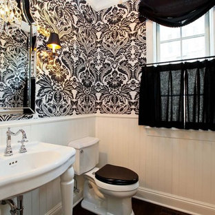 Black And White Wallpaper Ideas Houzz