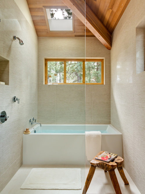 Minimalist bathroom photo in Portland. 5X8 Modern Bathroom Ideas   Houzz