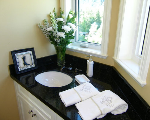 Saveemail Jil Sonia Interiors 24 Reviews Black Granite Bathroom Countertops