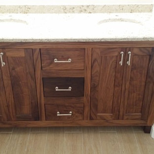 Black Walnut Bathroom Vanity