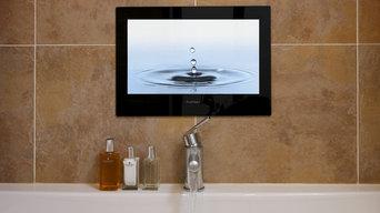 Black Waterproof TV