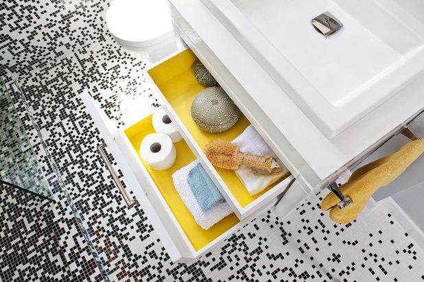 Contemporary Bathroom by Jennifer Gustafson Interior Design