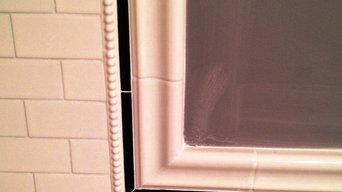 Black/White Bathroom