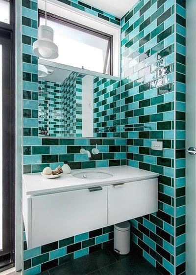 Contemporary Bathroom by Maxa Design
