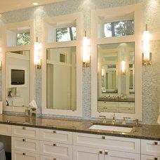 Traditional Bathroom by Moon Bros Inc