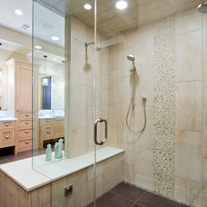 Traditional Bathroom by Tomlinson Designs