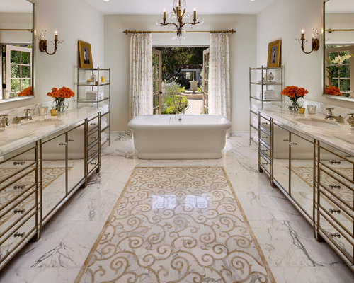 Inlaid Marble Floor Design : Marble inlay floor home design ideas pictures remodel
