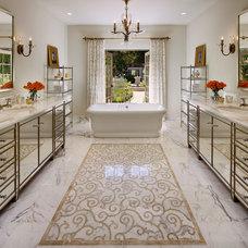 Mediterranean Bathroom by Giffin & Crane General Contractors, Inc.