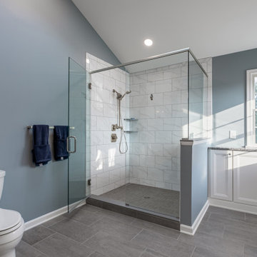Blissfully Blue Bathroom