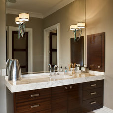 Contemporary Bathroom by Don Justice Cabinet Makers